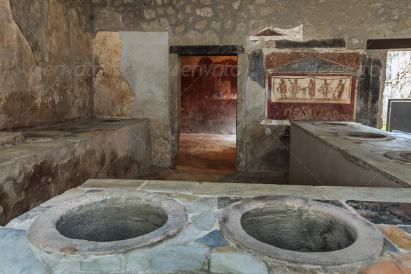 Pompeii, Italy  - Stock Photo - Images
