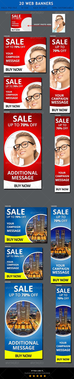 GraphicRiver Sales Website Banner Ads 6959236