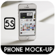 Phone 5S Mock-Up - GraphicRiver Item for Sale
