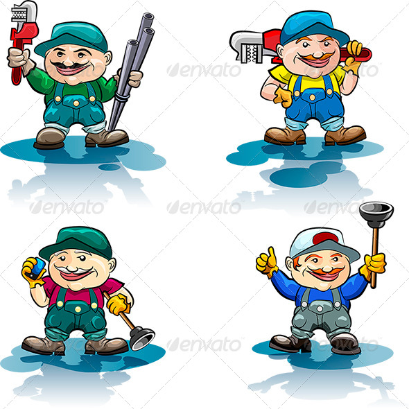 GraphicRiver The Plumber Icon Set 6969835