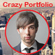 Crazy Portfolio Muse Template