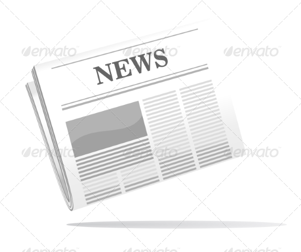 GraphicRiver Folded Newspaper 6969966