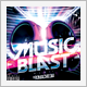 Music Blast CD Cover - GraphicRiver Item for Sale