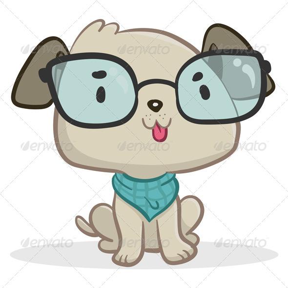 GraphicRiver Smart Dog Sitting 6971424