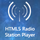 HTML5 Radio Station Player (Images and Media) Download