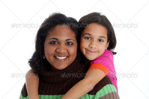 Mother and Daughter - Stock Photo - Images
