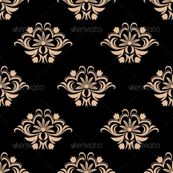 GraphicRiver Vintage Seamless Pattern Background 6972623