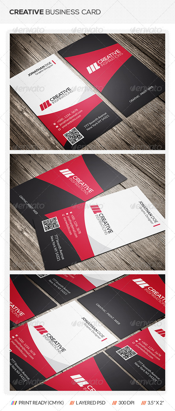 GraphicRiver Creative Corporate Business Card 6972624