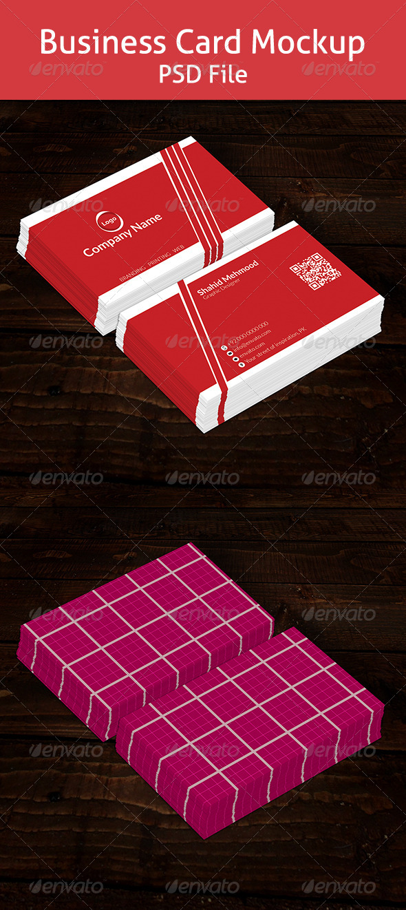 GraphicRiver Business Card Mockup 6972759