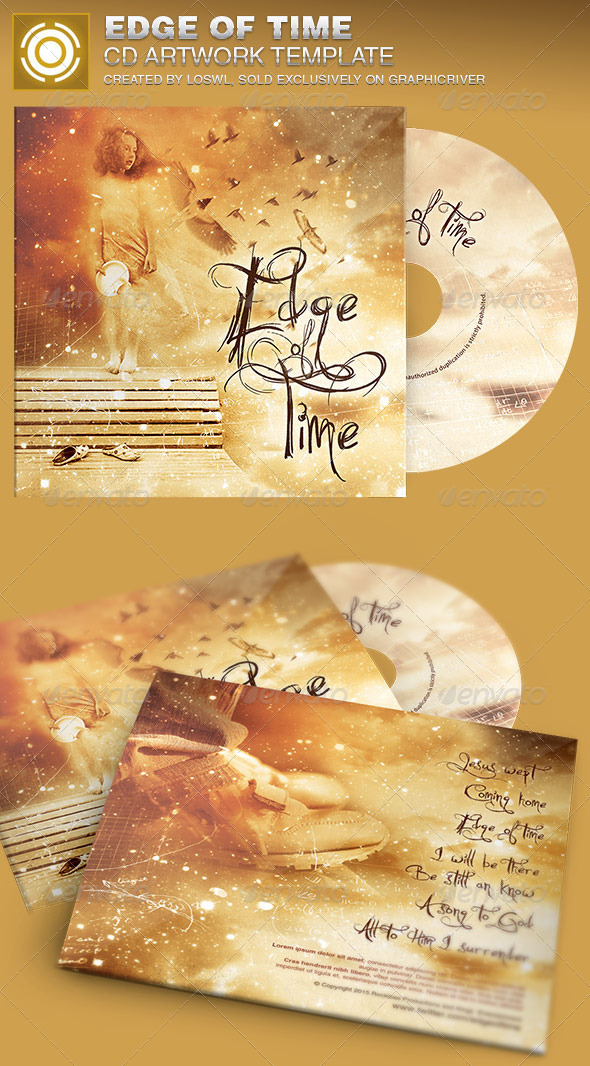 GraphicRiver Edge of Time CD Artwork Template 6972762