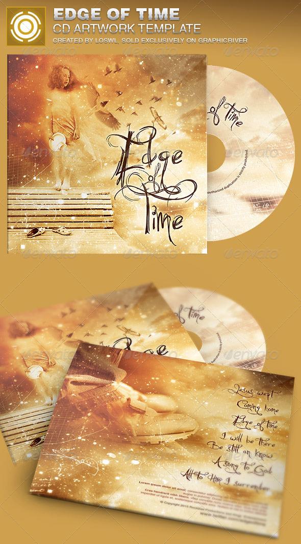 Edge of Time CD Artwork Template