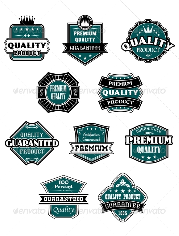GraphicRiver Retro Labels Set for Retail Industry 6973075