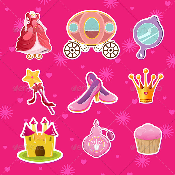 GraphicRiver Princess Icons 6973130