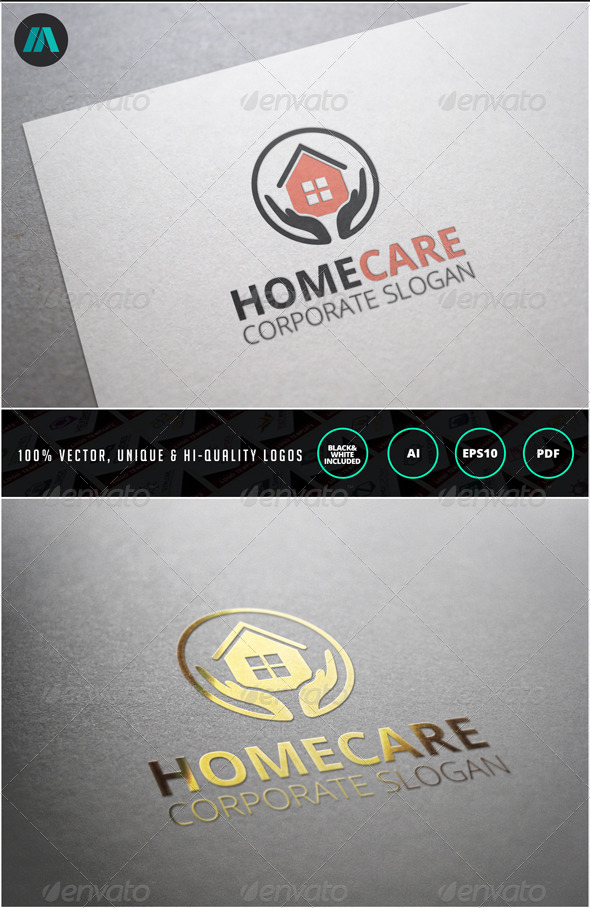 GraphicRiver Home Care Logo Template 6973376