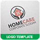 Home Care Logo Template - GraphicRiver Item for Sale