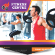 Fitness Centre Flyer - GraphicRiver Item for Sale
