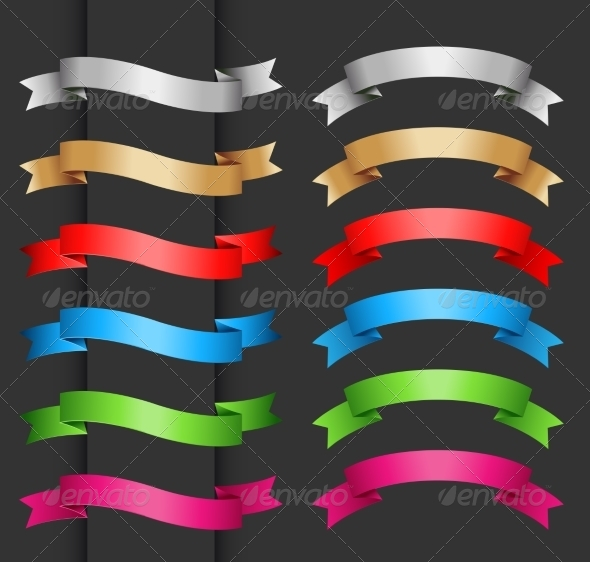GraphicRiver Ribbons 6973453