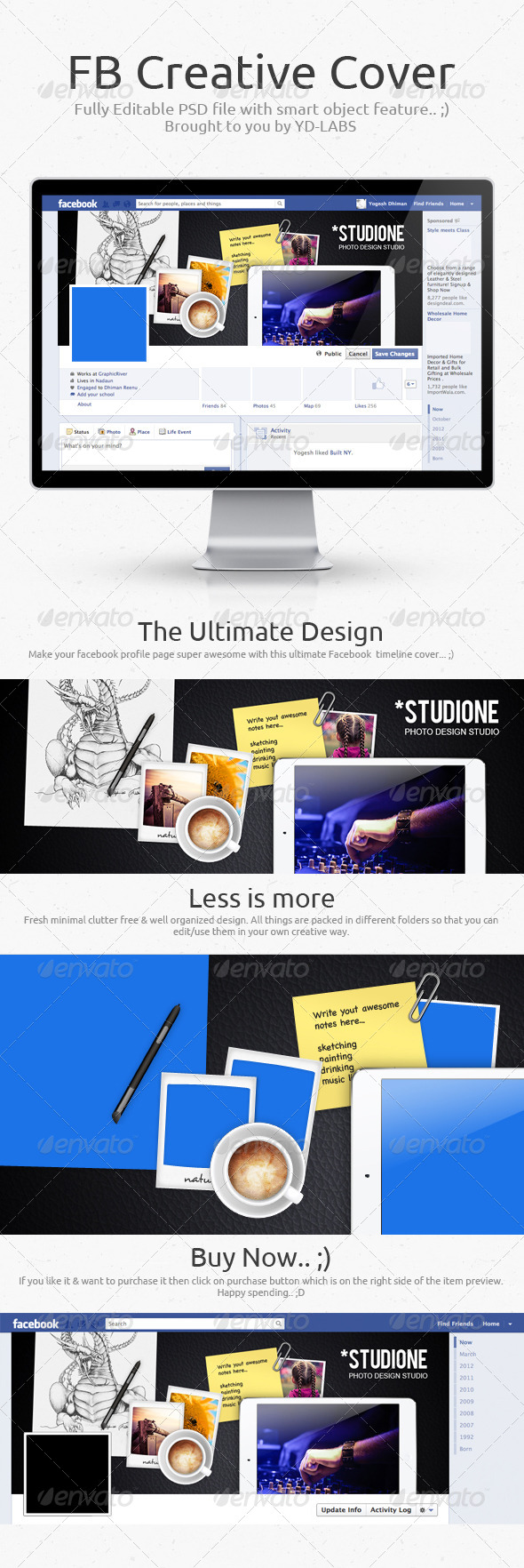 GraphicRiver FB Creative Cover 6973865