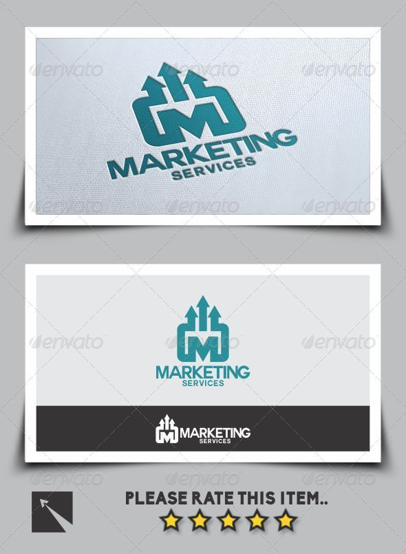 GraphicRiver Marketing Services Logo Template 6974101