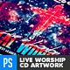 Christian Music Live Worship CD Artwork