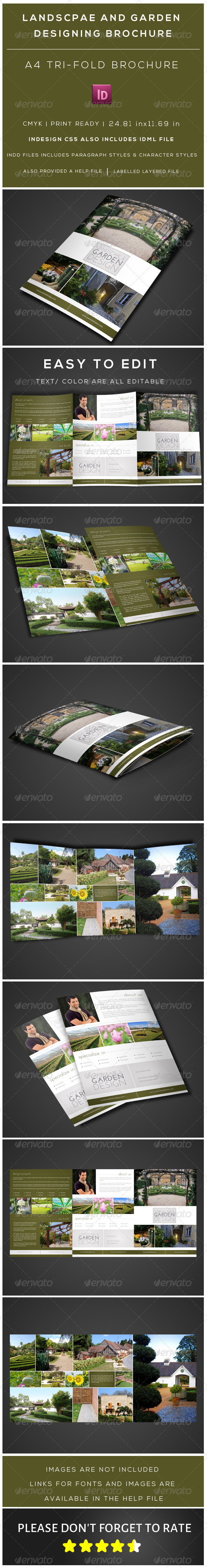 GraphicRiver Tri fold A4 size Multipurpose brochure 6939708