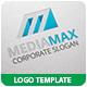 Media Max Logo Template - GraphicRiver Item for Sale