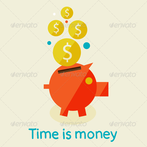 GraphicRiver Time Is Money 6975658