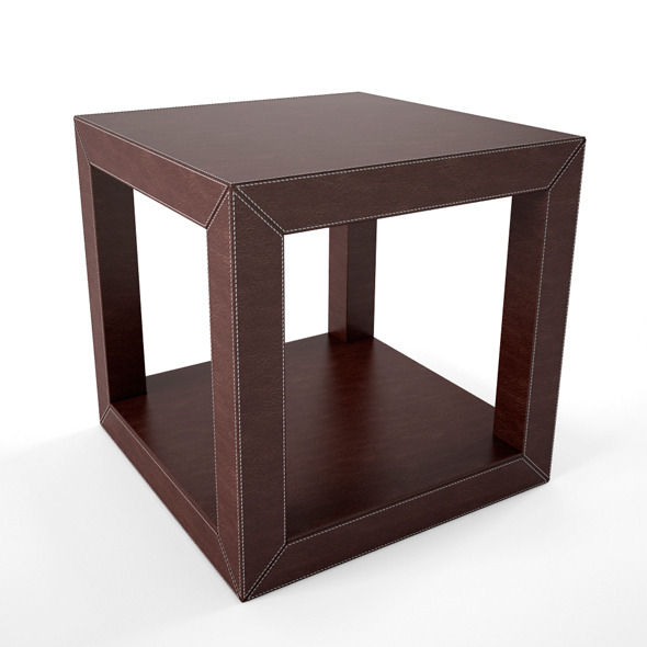 3DOcean Leather Coffee Table 6975850