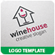 Wine House Logo Template - GraphicRiver Item for Sale