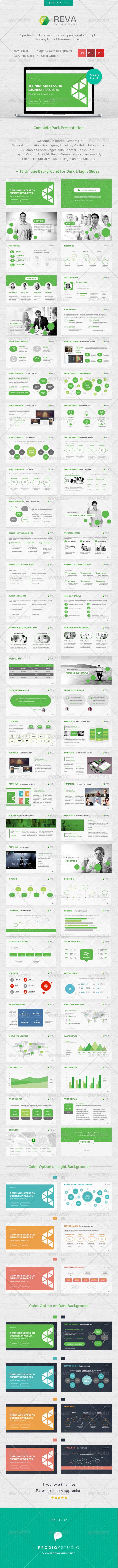 GraphicRiver Reva Multi Purpose Presentation Template 6976012