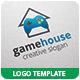 Game House Logo Template - GraphicRiver Item for Sale