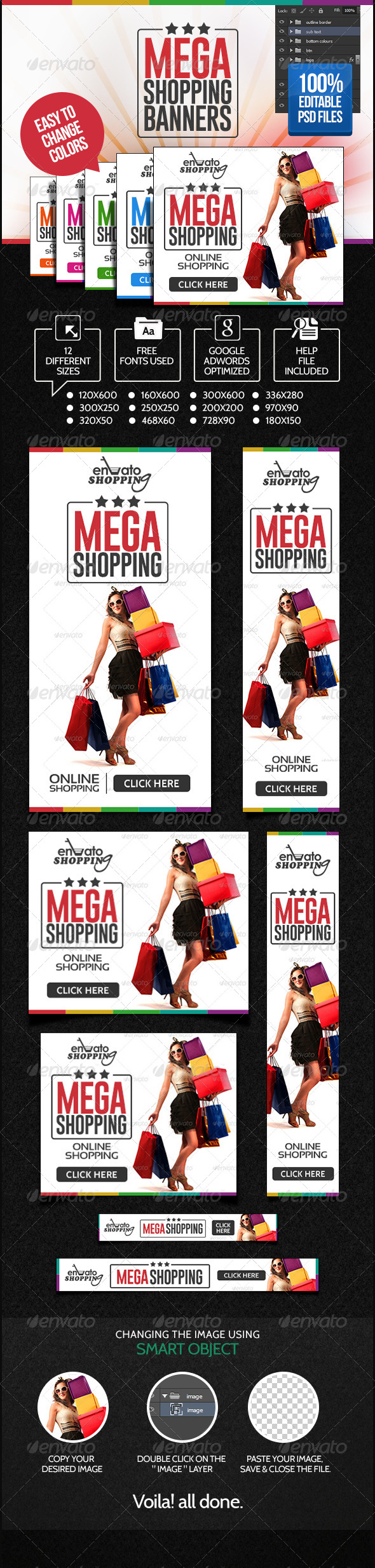 GraphicRiver Online Shopping Banner Set 6976654