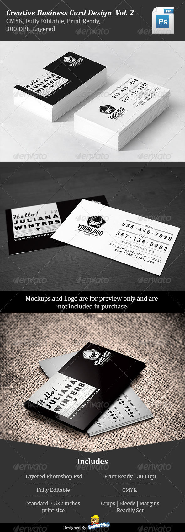Creative Business Card Design Vol.2