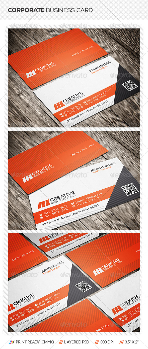GraphicRiver Creative Corporate Business Card 6976791