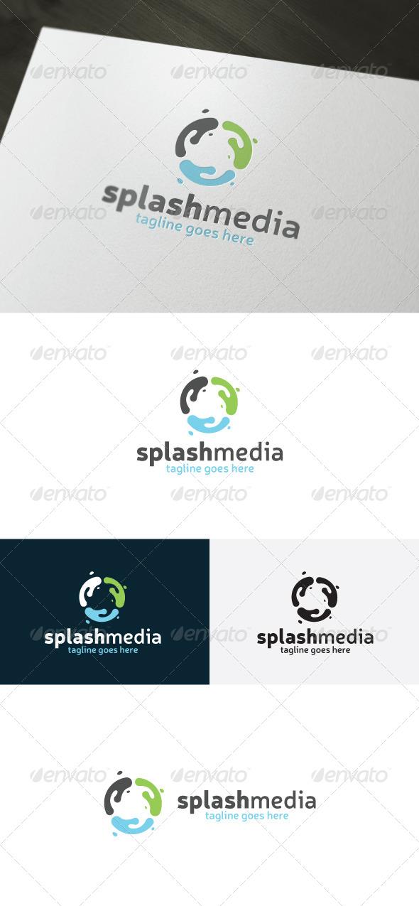 GraphicRiver Splash Media Logo 6976840