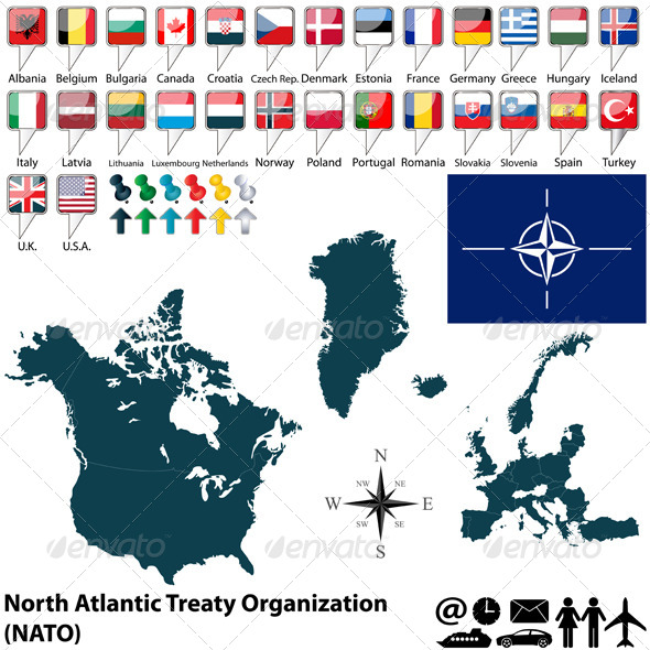 GraphicRiver Map of Nato 6976841