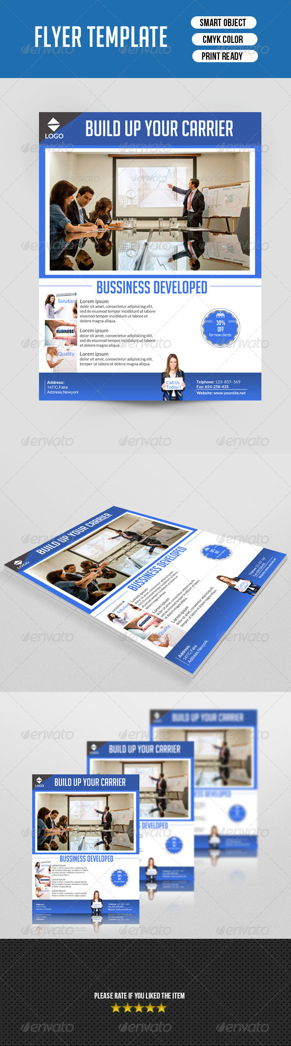 Business Flyer Template - Corporate Flyers
