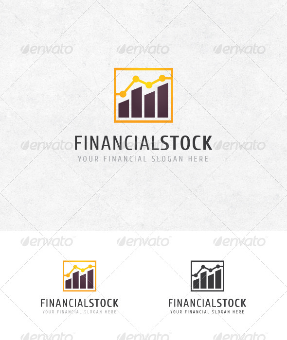 GraphicRiver Financial Stock Logo 6977008