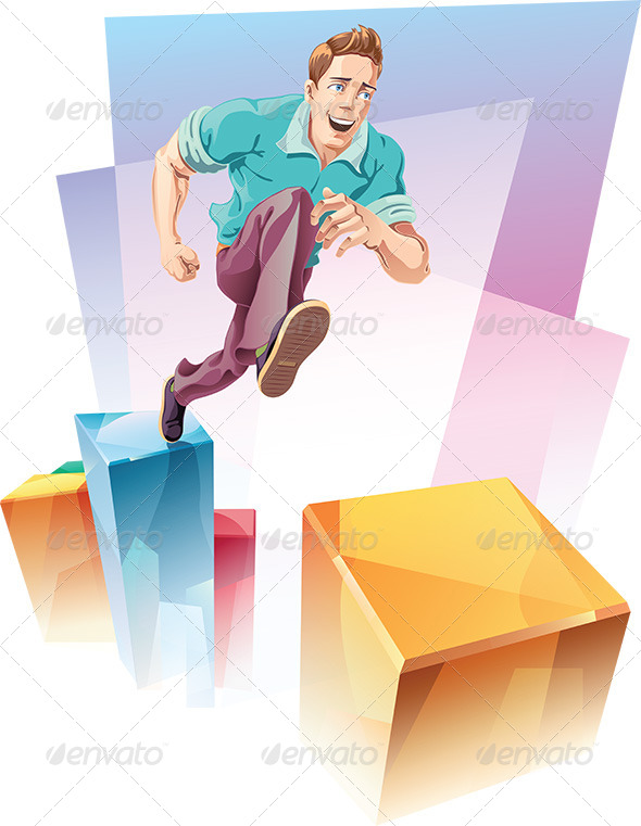 GraphicRiver Jumping Up 6977080