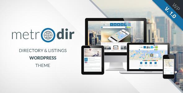 ThemeForest Metrodir Directory & Listings WordPress Theme 6897791