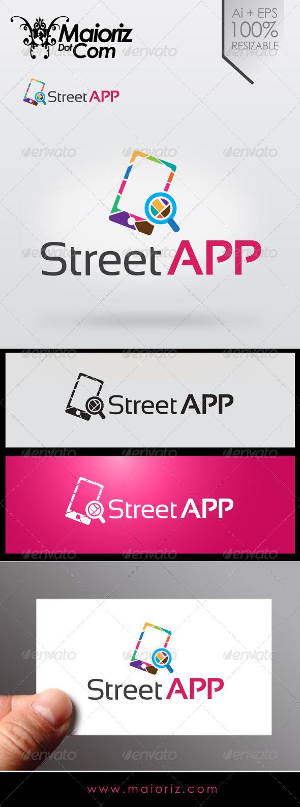 GraphicRiver Street App Logo 6977564
