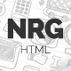 NRG - Responsive HTML Template - ThemeForest Item for Sale