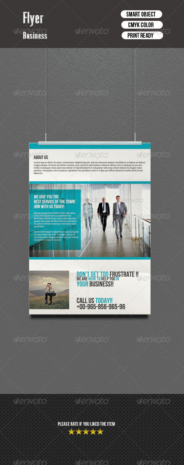 GraphicRiver Corporate Flyer 6977668