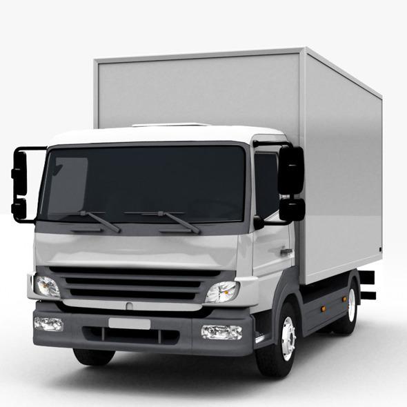 3DOcean Commercial Truck 6977697