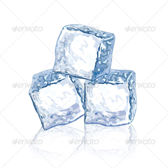 GraphicRiver Ice Cubes 6977707