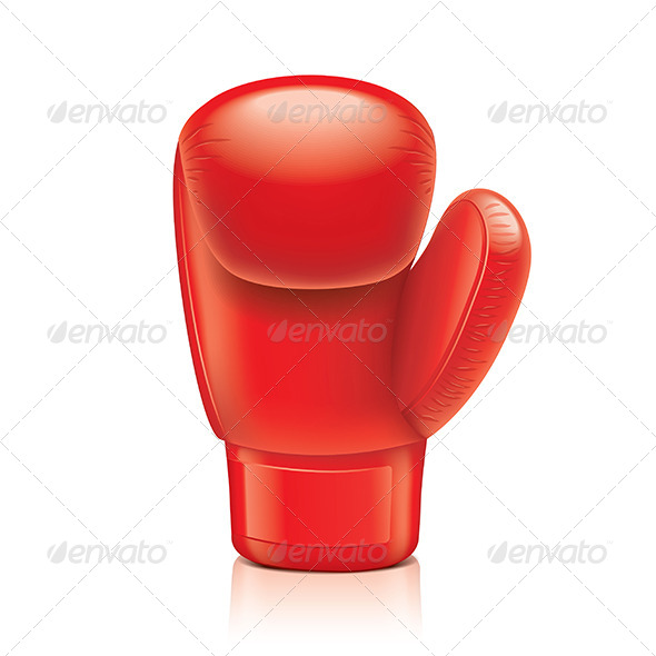 GraphicRiver Red Boxing Glove 6977711