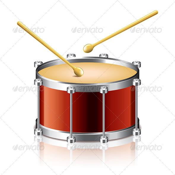 GraphicRiver Bass Drum 6977714