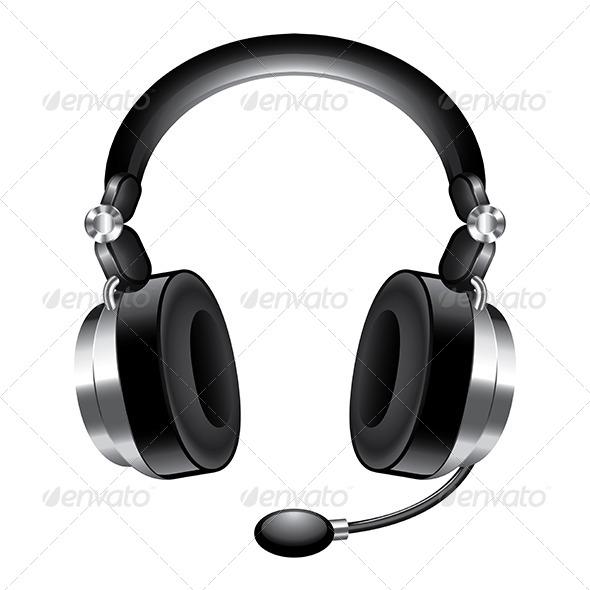 GraphicRiver Modern Headphones 6977717