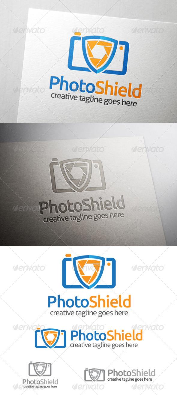 GraphicRiver Photo Shield Logo 6977763