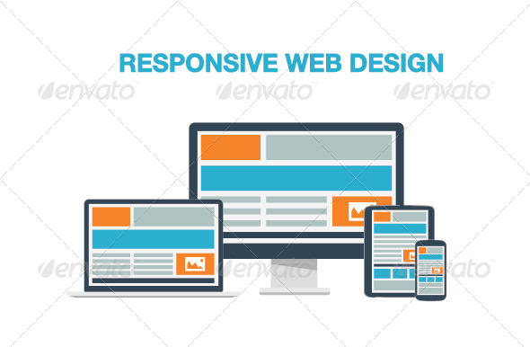 GraphicRiver Flat Responsive Web Design 6978096